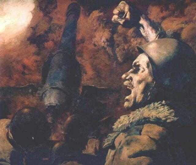Штурм Мамаева кургана.  Фрагмент диорамы.  Яблоки урожая 1941 года.